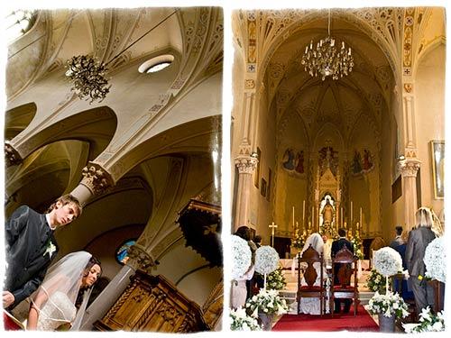 Matrimonio in chiesa a Stresa
