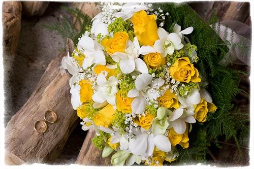 Bouquet per sposa a Stresa