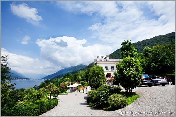 Villa vista lago Orta