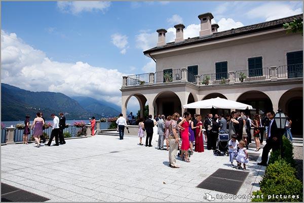catering matrimonio Villa Ortea