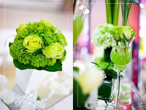 Matrimonio Tema Green : Matrimonio a tema verde acido