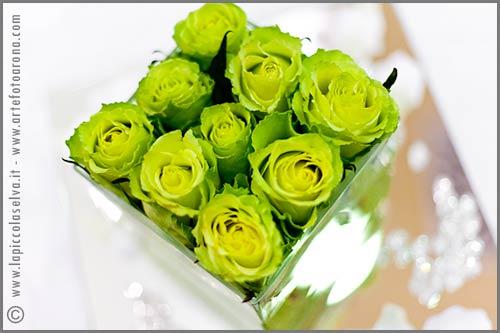 Matrimonio Tema Verde : Matrimonio a tema verde acido