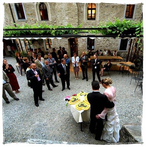 ristorante matrimonio Castelli di Bellinzona