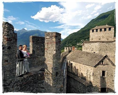 Matrimonio nei Castelli di Bellinzona
