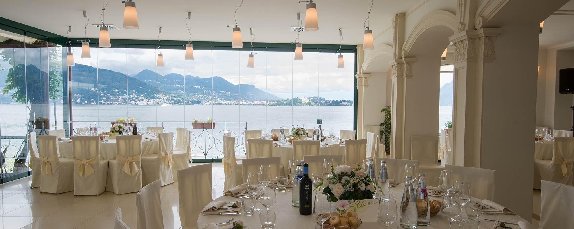 Hotel Ristorante Belvedere matrimonio Isola dei Pescatori