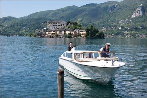 servizio-motoscafi-matrimonio-Lago-d'Orta