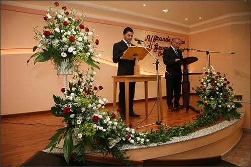 Matrimonio al grand hotel dino baveno - Addobbi sala matrimonio ...