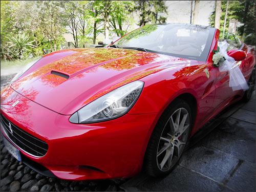 addobbo-auto-sposi-Ferrari
