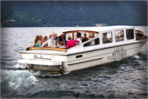 noleggio-motoscafo-matrimonio-lago-Orta