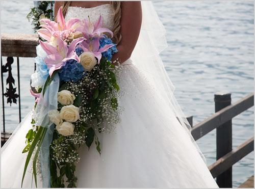 bouquet-sposa-gigli-rosa