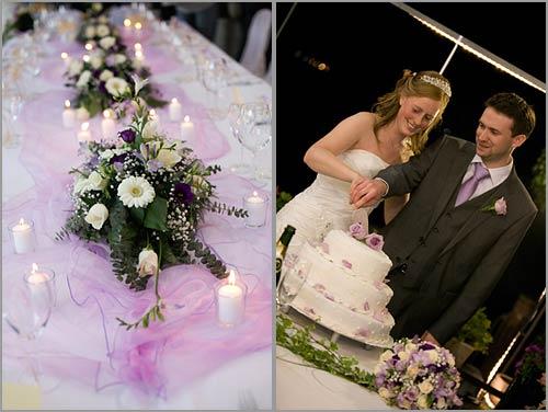 Matrimonio In Lilla : Colore delle tovaglie organizzazione matrimonio
