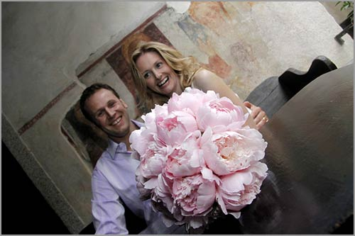 bouquet-sposa-peonia-rosa