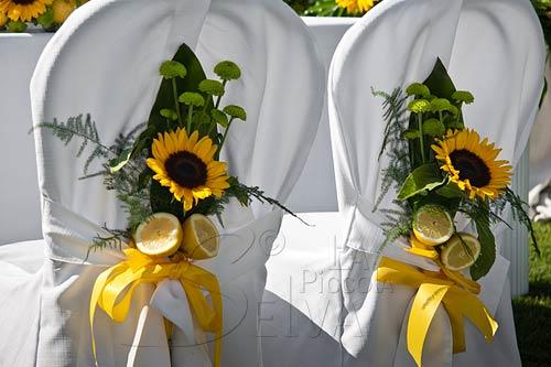 Matrimonio Tema Girasoli : Matrimonio a tema giallo con girasoli e limoni