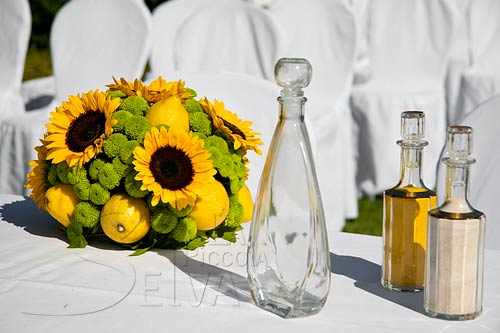 Matrimonio Stile Girasoli : Matrimonio a tema giallo con girasoli e limoni