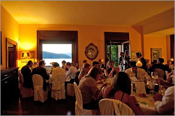 sala ricevimenti matrimoni Villa Rocchetta Golfo della Quassa
