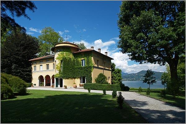 Villa Rocchetta on Lake Maggiore shores