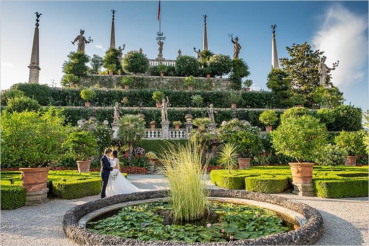Matrimonio sulle Isole del Lago Maggiore