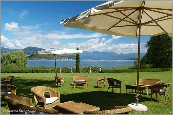 Villa Rocchetta outdoor wedding venue on Lake Maggiore
