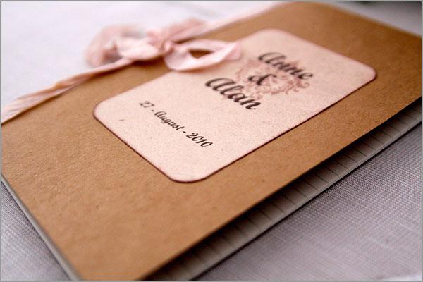 menu matrimonio creazioni artigianali