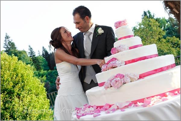 catering matrimonio Villa Pestalozza Miasino