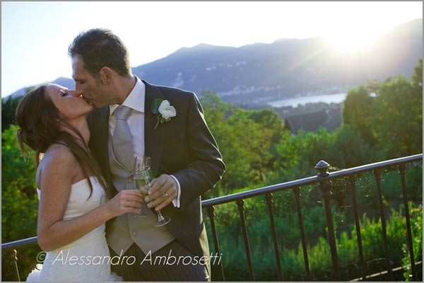 Villa Pestalozza location matrimonio vista lago d'Orta