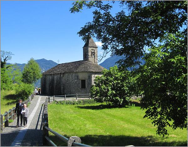 chiesa Santa Agata di Novaglio Verbania Lago Maggiore