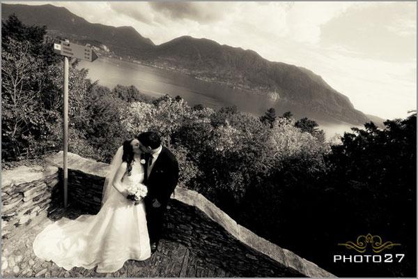 chiesa matrimonio vista lago Maggiore