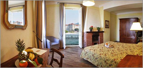 matrimonio Hotel Verbano camere con vista Lago Maggiore