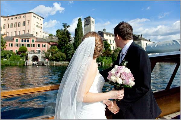 matrimonio basilica Isola di San Giulio