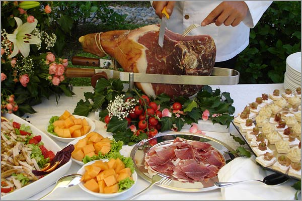 Le Muse catering matrimonio