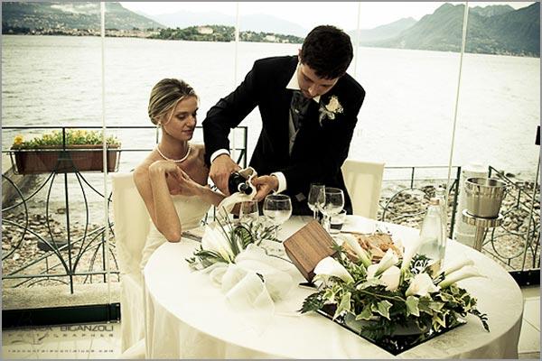 matrimonio ristorante Belvedere Isola dei Pescatori