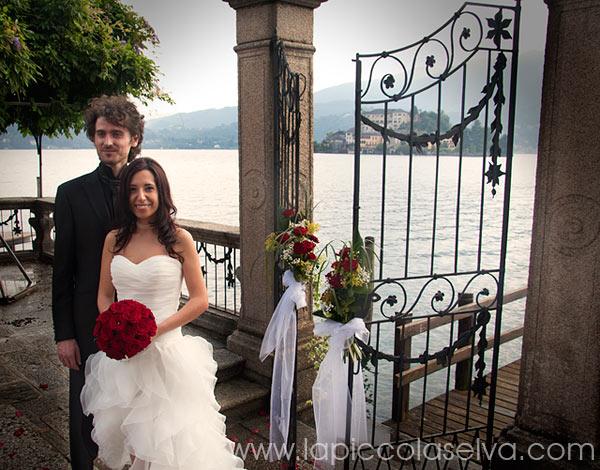 bouquet sposa rose rosse Grande Amore