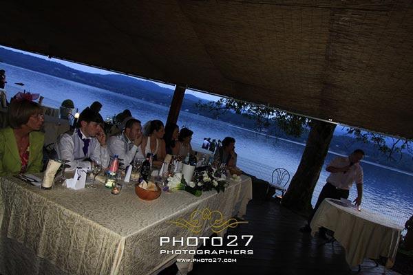 ristorante matrimonio Lago d'Orta