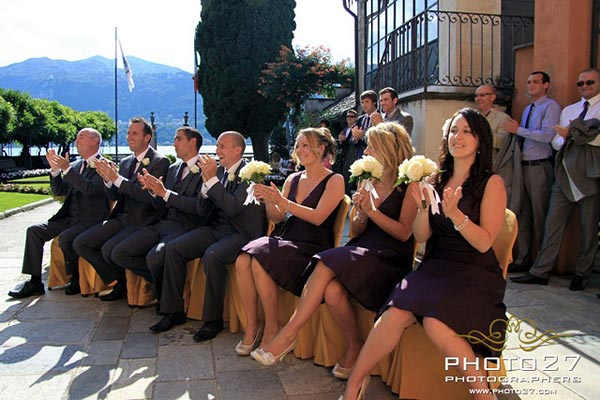 wedding planner matrimonio Villa Bossi