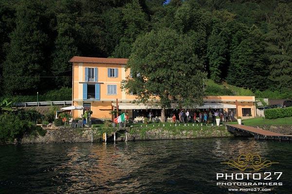 matrimonio ristorante Ustaria Ca dal Rat Lago d'Orta