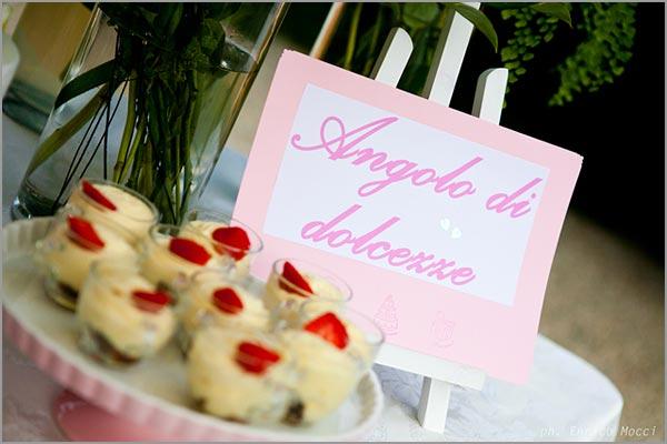allestimento catering matrimonio Villa Pestalozza