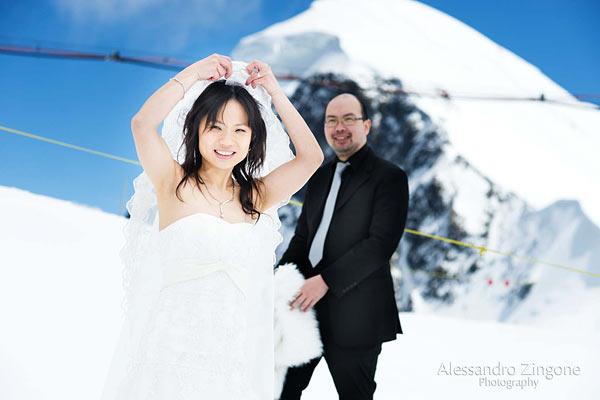 matrimonio a Zermatt