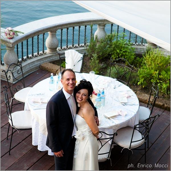 ricevimento matrimonio ristorante Orta Beach Club
