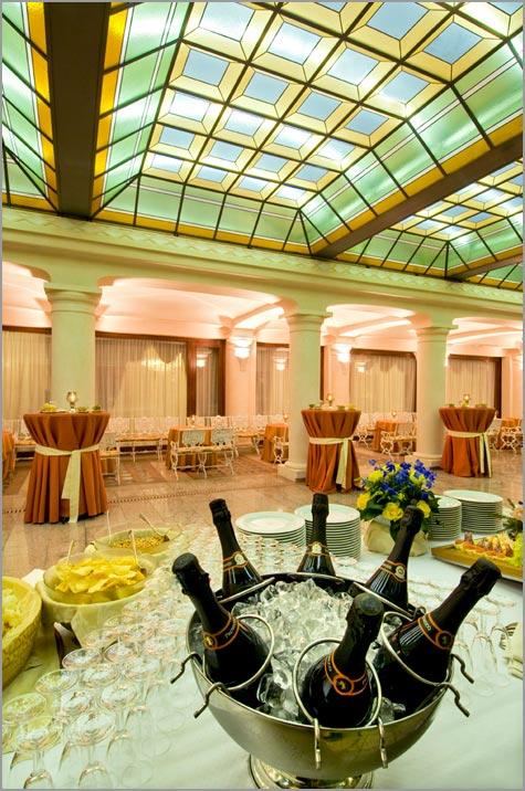 cena matrimonio hotel Bristol Stresa