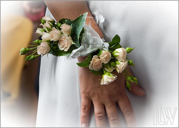 bouquet da sposa a braccialetto