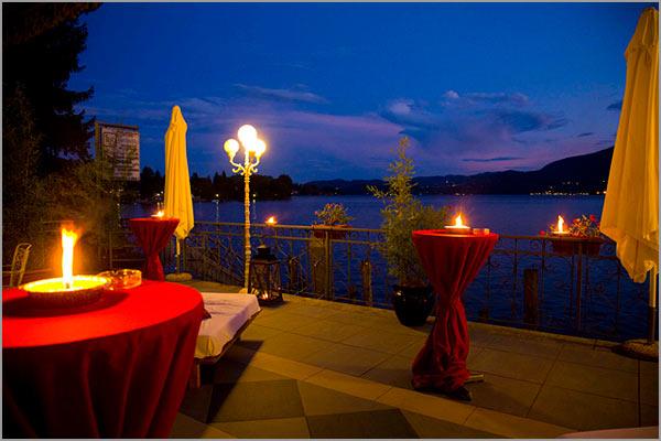 cena matrimonio hotel ristorante Giardinetto Pettenasco