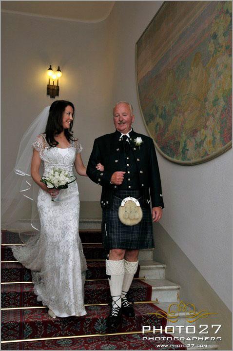 matrimonio italo scozzese sul lago Maggiore