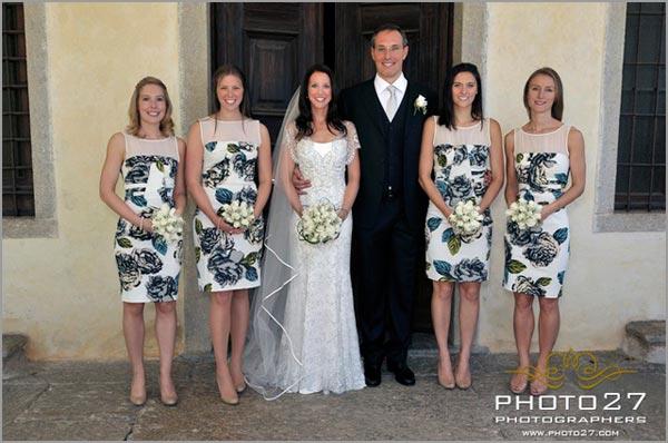 abiti per damigelle sposa Verbania