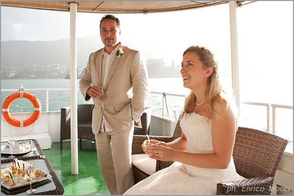 aperitivo in battello Navigazione Lago Maggiore