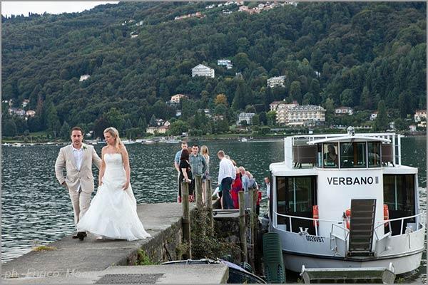 servizio battelli Hotel Verbano Lago Maggiore