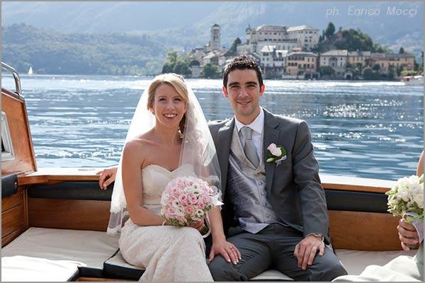 fioraio matrimonio lago d'Orta