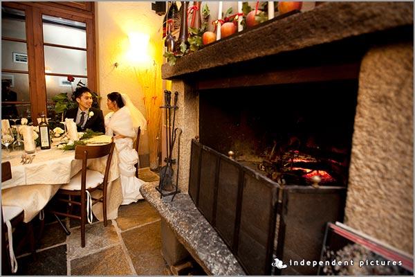 cena matrimonio ristorante Ustaria Ca dal Rat Orta