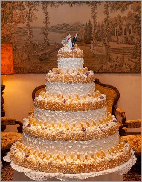 torta nuziale hotel Bristol Stresa