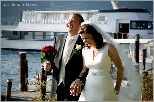 festa matrimonio in battello sul lago