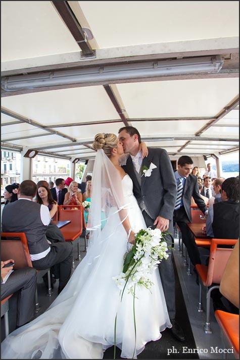 Noleggio battelli matrimonio Lago d'Orta